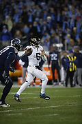 Jacksonville Jaguars quarterback Cody Kessler (6) in action during the week 14 regular season NFL football game against the Tennessee Titans on Thursday, Dec. 6, 2018 in Nashville, Tenn. The Titans won the game 30-9. (©Paul Anthony Spinelli)