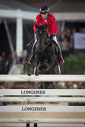 Dreher Hans Dieter, (GER), Embassy II<br /> Grand Prix CSI 5*<br /> Longines Global Champions Tour - Antwerp 2015<br />  © Hippo Foto - Dirk Caremans<br /> 25/04/15