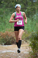 Kerhonkson, New York - Sara Wenger runs through Minnewaska State Park Preserve during the Shawangunk Ridge Trail Run/Hike 20-mile race on Sept. 20, 2014.
