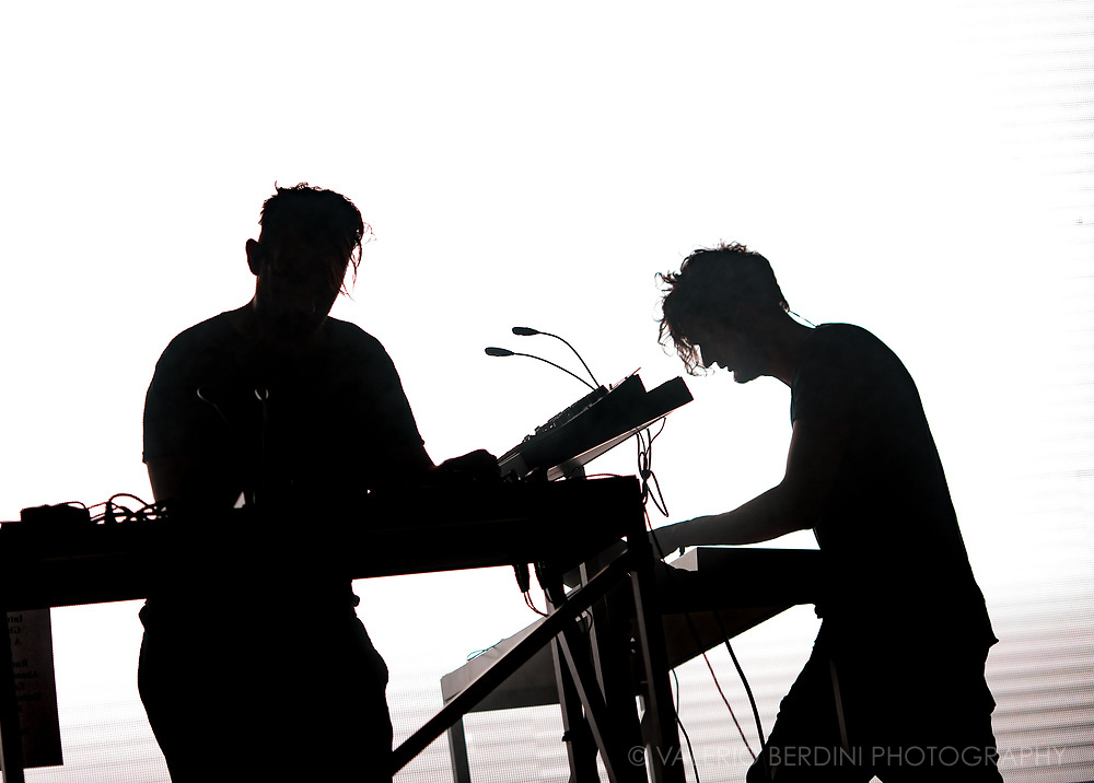 Moderat live at Field Day London on 3 June 2017