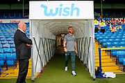 Leeds United midfielder Adam Forshaw (4) arriving during the EFL Cup match between Leeds United and Stoke City at Elland Road, Leeds, England on 27 August 2019.