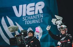 06.01.2020, Paul Außerleitner Schanze, Bischofshofen, AUT, FIS Weltcup Skisprung, Vierschanzentournee, Bischofshofen, Finale, im Bild 2. Platz Marius Lindvik (NOR) // 2nd placed Marius Lindvik of Norway during the final for the Four Hills Tournament of FIS Ski Jumping World Cup at the Paul Außerleitner Schanze in Bischofshofen, Austria on 2020/01/06. EXPA Pictures © 2020, PhotoCredit: EXPA/ JFK