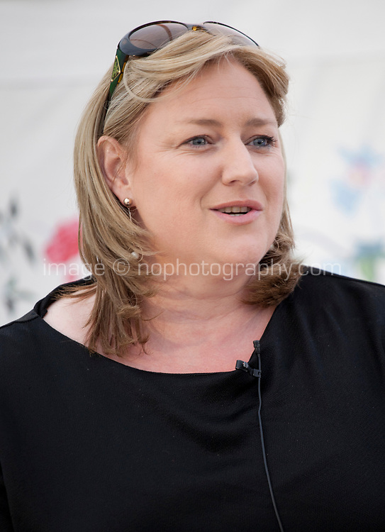 Dearbhail McDonald during the 'New World Order' talk at the Dalkey Book Festival, Dalkey, County Dublin, Ireland, Thursday 15th June 2017. Photo credit: Doreen Kennedy