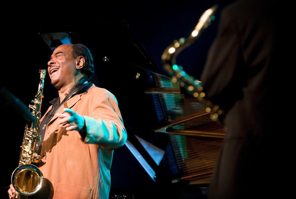 Nederland. Rotterdam, 14 juli 2007.<br /> North Sea Jazz festival. Benny Golson.<br /> Foto Martijn Beekman <br /> NIET VOOR TROUW, AD, TELEGRAAF, NRC EN HET PAROOL