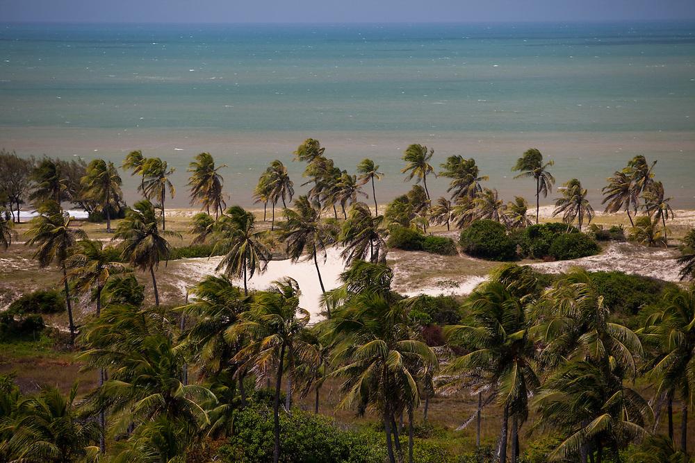 Natal_RN, Brasil...Vista panoramica do litoral norte de Natal...The panoramic of the north coast in Natal...Foto: LEO DRUMOND / NITRO