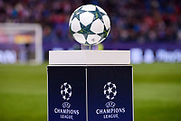 The official ball of UEFA Champions League at Vicente Calderon Stadium in Madrid. November 01, Spain. 2016. (ALTERPHOTOS/BorjaB.Hojas)