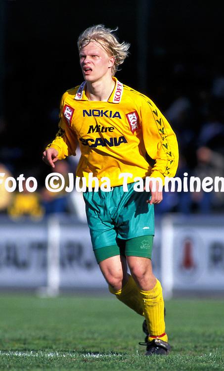 28.05.1998.Jani Riissanen - FC Ilves.©JUHA TAMMINEN