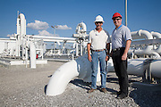 Bus tour for Plains All American Pipeline, LP facility near St. James, Louisiana