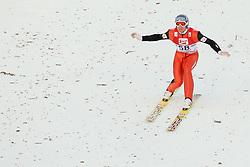 14.12.2012, Nordische Arena, Ramsau, AUT, FIS Nordische Kombination Weltcup, Gundersen, Skisprung, im Bild Bernhard Gruber (AUT) during Ski Jumping of FIS Nordic Combined World Cup, Gundersen at the Nordic Arena in Ramsau, Austria on 2012/12/14. EXPA Pictures © 2012, EXPA/ Federico Modica