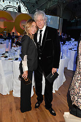 BOB GELDOF and JEANNE MARINE at the GQ Men Of The Year 2014 Awards in association with Hugo Boss held at The Royal Opera House, London on 2nd September 2014.