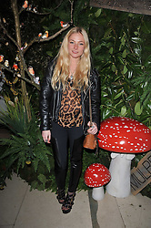 LADY CLARA PAGET at Mulberry's party following their fashion show as part of London Fashion Week Autumn Winter Collection 2011 held at Claridges, Brook Street, London on 20th February 2011.