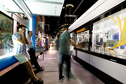 Smart City Post Kiosks installed at downtown Kansas City Streetcar stops