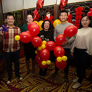 13.02.2018.<br /> University of Limerick International Office Chinese New Year Celebrations, Chungs Chinese Cuisne Castletroy. <br />  Pictured at the event were, Jiasen Liu, Niamh kavanagh, UL, Ya Nan Wang, Chungs, Yafei Li and Ningyi Sun. Picture: Alan Place