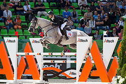Peter Tersgov Flarup, (DEN), CTS Twin Peaks - Jumping Eventing - Alltech FEI World Equestrian Games™ 2014 - Normandy, France.<br /> © Hippo Foto Team - Leanjo De Koster<br /> 31-08-14