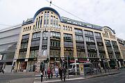 The famous Hackescher Markt,Berlin,Germany
