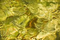Reflection on the water surface, Veliki Prstavci waterfalls, Gradinsko lake, Upper Lakes, Pliitvice National Park, Croatia