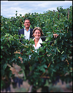 Cynthia & David Enns at their Naramata winery in British Columbia's wine making region, the Okanagan valley.