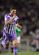 Andre-Pierre Gignac celebrates scoring the second goal for toulouse in the second half. Toulouse v Saint Etienne (3-1), 2eme Journee, Ligue 1 2009/2010, Stade Municipal, Toulouse, France, 15th August 2009.