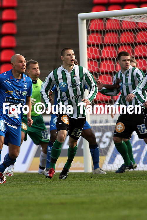 22.05.2008, Ratina, Tampere, Finland..Veikkausliiga 2008 - Finnish League 2008.Tampere United - FC KooTeePee.Sasha Anttilainen - KooTeePee.©Juha Tamminen.....ARK:k