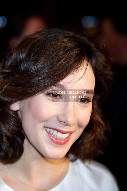 German actress Sibel Kekilli attends the Premiere of Nocturna Fantastic Film Festival at Palafox Theatre on May 26, 2014 in Madrid