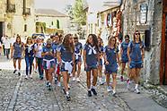 30-08-2018 visita santillana del mar seleccion  femenina
