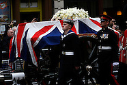 GBR: The Ceremonial Funeral Of Former British Prime Minister Baroness Thatcher
