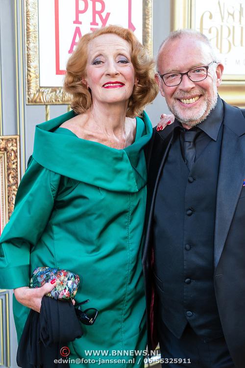NLD/Amsterdam/20160713 - Premiere Absolutely Fabulous, Gerrie van der Klei en Frans Mulder