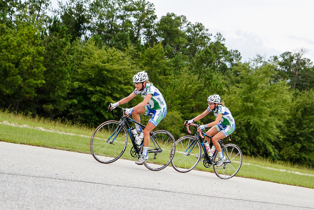 2012 Double Down Challenge road cycling race at Carolina Motorsports Park near Camden, SC.