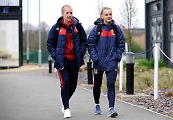 Bristol City Women arrive prior to kick-off- Mandatory by-line: Nizaam Jones/JMP- 31/03/2019 - FOOTBALL - Stoke Gifford Stadium - Bristol, England - Bristol City Women v Reading Women - FA Women's Super League 1