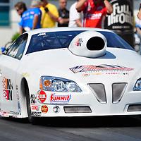 Warren Johnson at Full throttle drag racing series, National Hot Rod Association 2011
