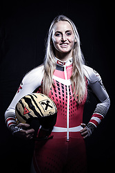 12.10.2019, Olympiahalle, Innsbruck, AUT, FIS Weltcup Ski Alpin, im Bild Nina Ortlieb // during Outfitting of the Ski Austria Winter Collection and the official Austrian Ski Federation 2019/ 2020 Portrait Session at the Olympiahalle in Innsbruck, Austria on 2019/10/12. EXPA Pictures © 2020, PhotoCredit: EXPA/ JFK