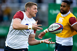Ruaridh McConnochie of England - Mandatory by-line: Robbie Stephenson/JMP - 06/09/2019 - RUGBY - St James's Park - Newcastle, England - England v Italy - Quilter Internationals