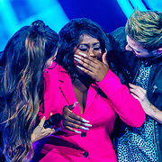 NLD/Amsterdam/20181025 - Finale The Talent Project 2018, emotionele winnares Avanaysa Neida