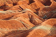 Clay formation in agricultural badlands (Cheltemham Badlands).<br /> Cheltemham<br /> Ontario<br /> Canada