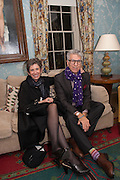 BETH DE WOODY; FIROOZ ZAHEDI, Dinner to celebrate the opening of Pace London at  members club 6 Burlington Gdns. The dinner followed the Private View of the exhibition Rothko/Sugimoto: Dark Paintings and Seascapes.