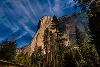 El Capitan, Yosemite Valley, Yosemite National Park, California USA.