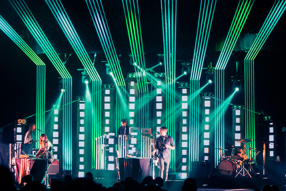 The Postal Service perform at The Mondavi Center For The Arts - Davis, CA - 4/10/13