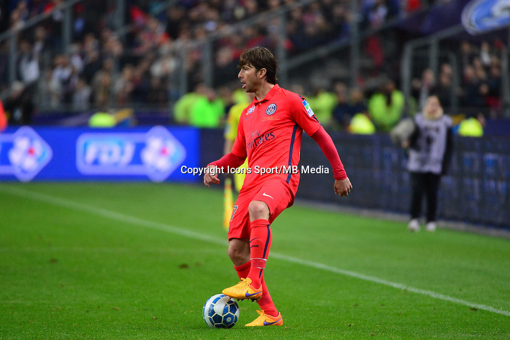 Sherrer MAXWELL    - 11.04.2015 -  Bastia / PSG - Finale de la Coupe de la Ligue 2015<br />