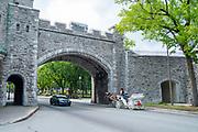 Outside of the  Citadelle de Quebec, Canada.