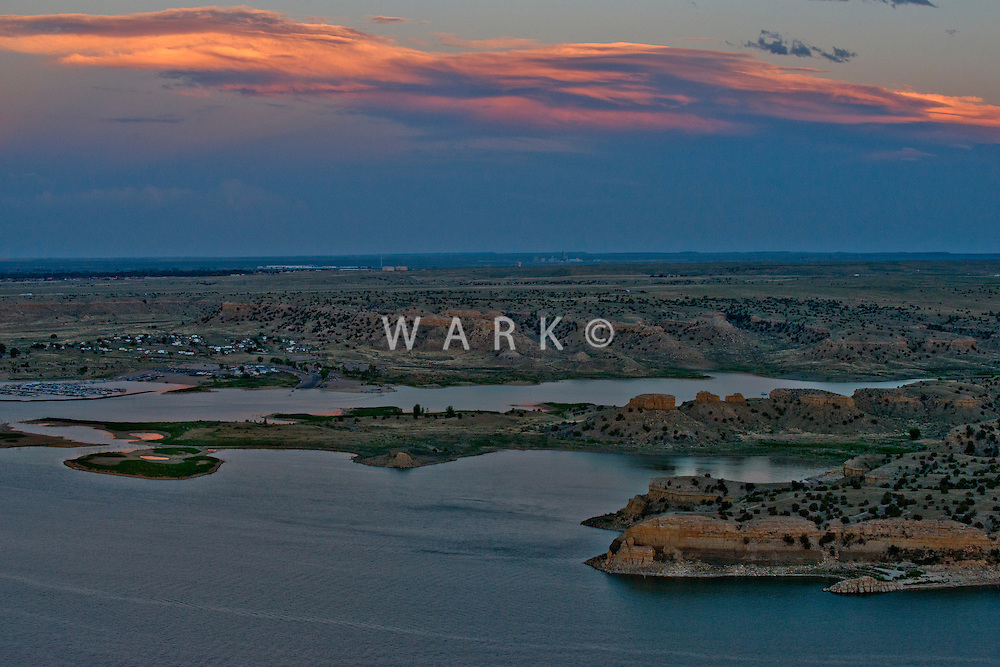 Sunset Lake Pueblo.  June 2014. 85062