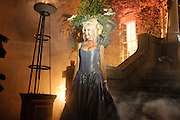 Alicia Douvall;,  IVth annual BloodLust Ball  Hampton Court House. Hampton Court. London. 31 October 2009