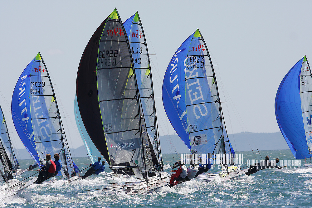 SEMAINE OLYMPIQUE DE HYERES 2008. COPYRIGHT : THIERRY SERAY/DPPI