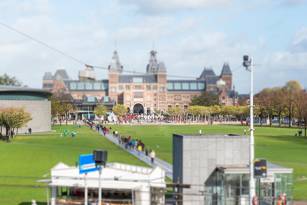 Tilt Shift I am Amsterdam