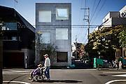 Tokyo, November 10 2010 - House H by Sou Fujimoto.