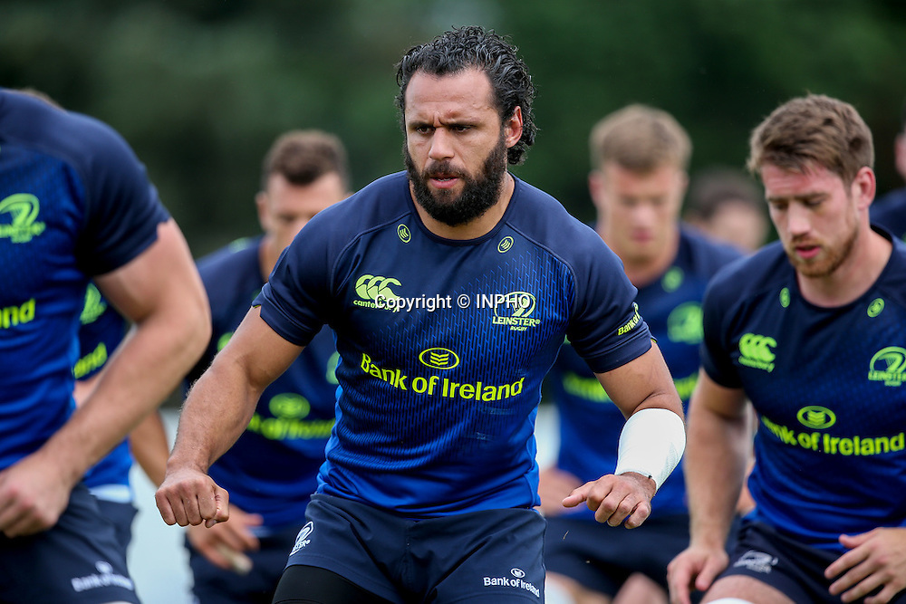 Leinster Rugby Open Training, Greystones RFC, Greystones, Co. Wicklow 2/8/2016<br /> Isa Nacewa<br /> Mandatory Credit &copy;INPHO/Gary Carr