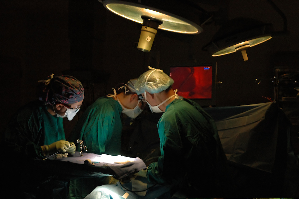 Physicians in surgery