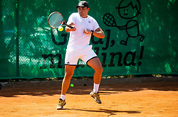 Jure Arnez at ATP Challenger Zavarovalnica Sava Slovenia Open 2019, day 8, on August 16, 2019 in Sports centre, Portoroz/Portorose, Slovenia. Photo by Vid Ponikvar / Sportida