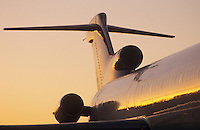 Fuselage and tailplane of Boeing 727