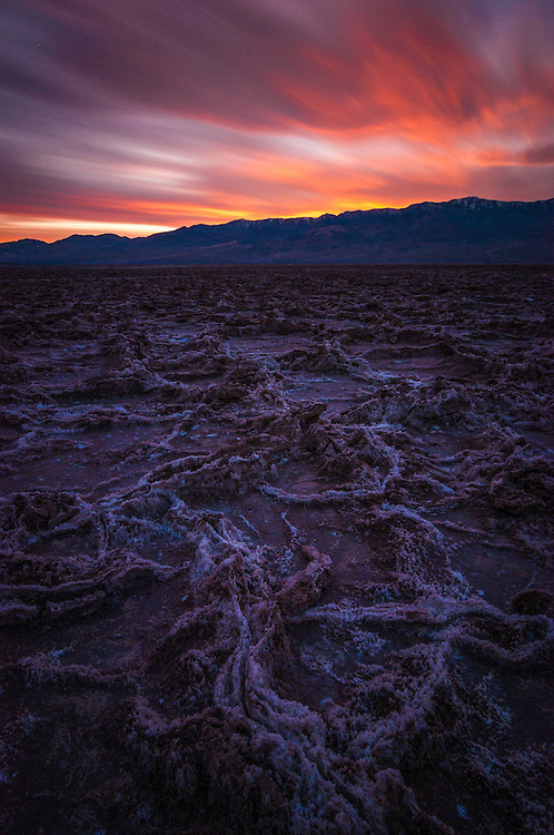 What can I say, it's the Death Valley. Is Hell going to be this pretty? Most definitely, not.