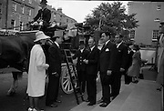 4/8/1964<br /> 8/4/1964<br /> 8 August 1964<br /> <br /> Mr. and Mrs. Gilley along with their party boarding the Coach to depart to Ballsbridge